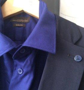 Рубашка новая! ZARA-длинный рукав! Последняя цена