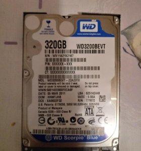 Hdd 320 gb western digital