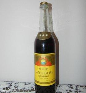 Коньячная бутылка СССР, ГОСТ-78