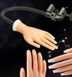 Рука для наращивания ногтей