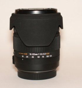 Sigma 18-125mm OS HSM for Canon