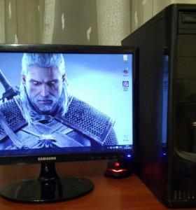 Игровой AMD FX 4300 3.80Ghz / Видео 2Gb