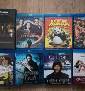Blu-ray диски 7шт