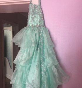 Платье для девочки на выпускной детского сада