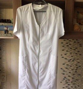 Медицинский халат, костюм ( размер XS)