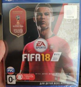 Fifa 18 ps4 новый