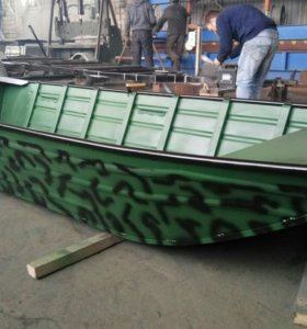 Лодка алюминиевая продам