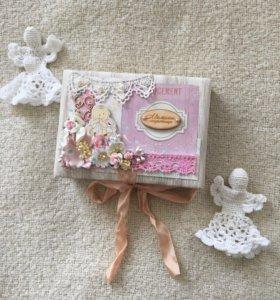 Подарочная коробка на рождение