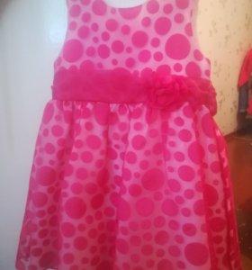 Нарядное платье. Размер 104-110.