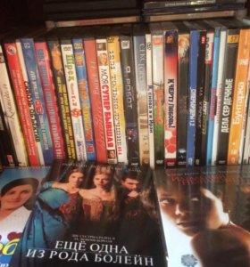 CD-диски лицензионные с фильмами разных жанров