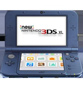 Кансоль nintendo 3ds XL NEW(чипов)