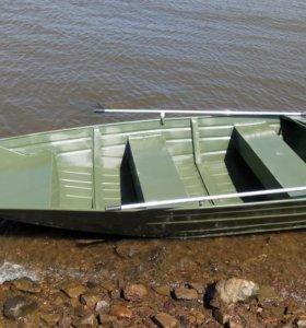 Моторная лодка Меркури из алюминия