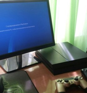 PLAYSTATION 4 (500g) Новая ревизия