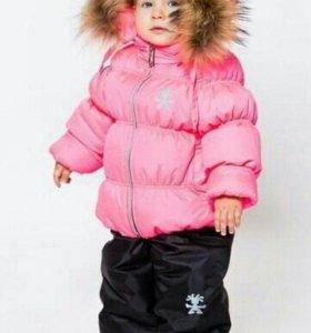 Костюм зимний на девочку