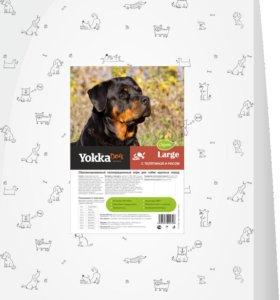 YokkaDog корм для собак крупных пород