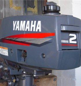 Лодочный мотор Ямаха 2