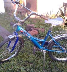Детский велосипед, 18 дюйм, в отличном состоянии
