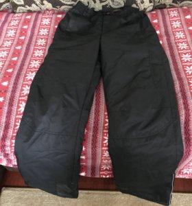 Зимние штаны на утеплёнке
