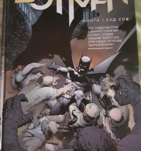 Бэтмен Суд Сов книга 1