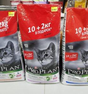 Про План для кошек 12кг
