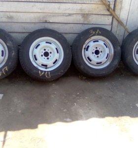 Девяточные колеса на 13