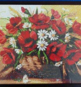 Картина 30×40 алмазная вышивка