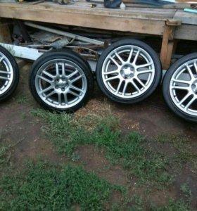 Комплект колес R17 5x100