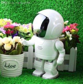 Новая WI-FI камера 20см астронавт робот видеоняня