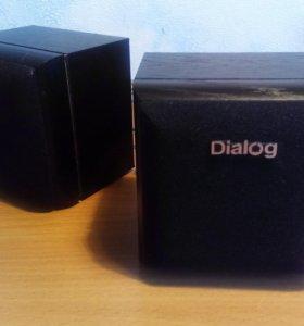 Колонки Dialog Disco AD-02 Black 8W RMS-2.0