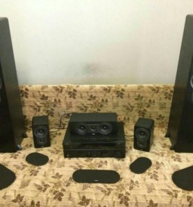 Комплект акустики Jamo S 426 HCS 3 Black Ash