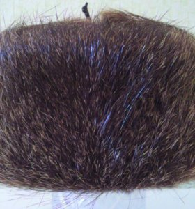 Шапка из натурального меха ондатры