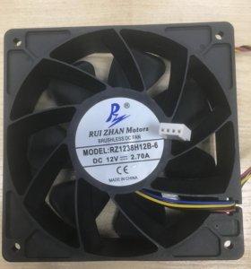 Вентилятор для майнеров АСИК ASIC dc 12v 2.70A