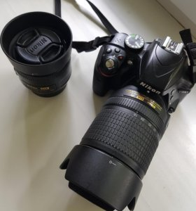 Nikon D3300 + 35mm + 18-140mm