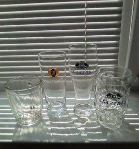 Бокалы для пивных и прочих напитков