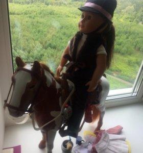 Кукла-наездница Новая
