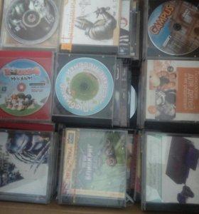 DVD диски много!!!