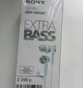 Наушники soni mdr -xb50ap