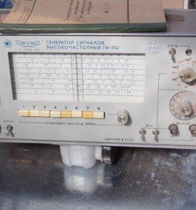 Генератор Г4-102 высокочастотный