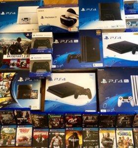 Sony PlayStation 4 и аксессуары