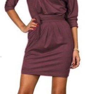 Платье новое под замшу