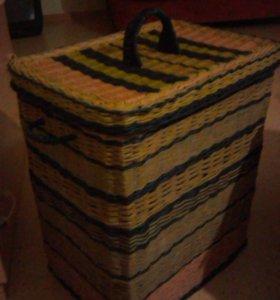 Плетеные корзинки