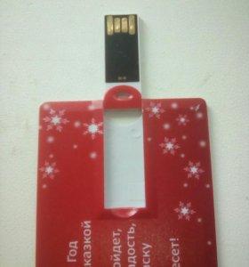 Флешка USB 2 гига новая