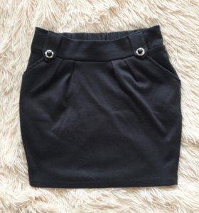 Трикотажная юбка