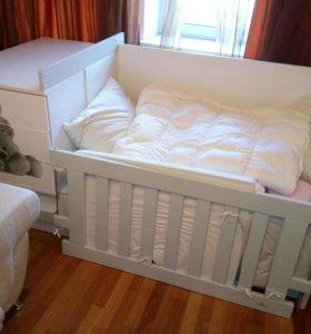 Детская кровать - трансформер Alondra