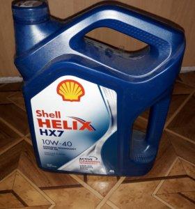 Масло Shell Helix hx7 10w-40