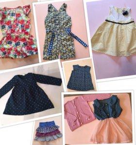 Пакет 📦 одежды для девочки 74-86(1-2 года)