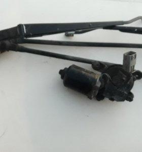 Мотор дворников на Toyota sprinter ae100