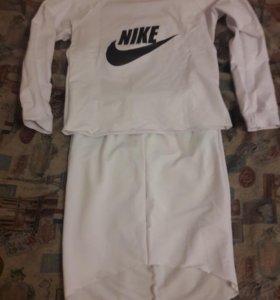 Костюм белый Nike