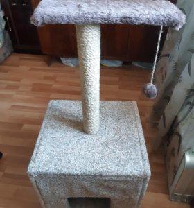 Кошачий домик - когтеточка