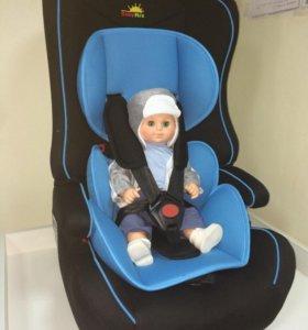Автокресло Baby MIX (LD02),голубой